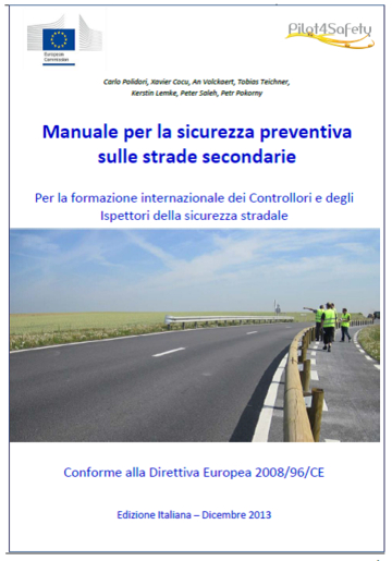 Safety Prevention Manual For Secondary Roads - Italian Version